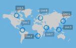 world map 153x97 - Un nuovo modello di simulazione del rischio di trasfusione degli Arbovirus